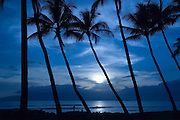 Puamana Beach Park, Lahaina, Maui, Hawaii<br />