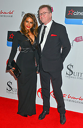 Lisa Vanderpump and husband and Mark Vanderpump seen at the VIP red carpet screening of Fifty Shades of Grey at the CineWorld Birmingham. EXPA Pictures © 2015, PhotoCredit: EXPA/ Photoshot/ Jules Annan<br /> <br /> *****ATTENTION - for AUT, SLO, CRO, SRB, BIH, MAZ only*****