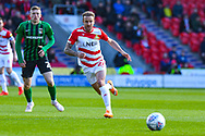James Coppinger of Doncaster Rovers (26) in action during the EFL Sky Bet League 1 match between Doncaster Rovers and Coventry City at the Keepmoat Stadium, Doncaster, England on 4 May 2019.
