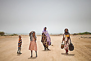 Refugees from northern Somalia fleeing starvation wait at the border of Djibouti for permission to enter—in vain. .Only war refugees from central and southern Somalia are accepted...In Loyada, the only official border crossing from Djibouti into Somalia, war refugees from Somalia hope to be accepted by the UNHCR and Onars (Djibouti Refugee Agency), so they can be settled in a refugee camp. Only Somalians coming from South Somalia (in and around Mogadishu, where the fighting takes place) are accepted. They are interrogated, so that the UNHCR/Onars authorities can find out if they really come from South Somalia. People coming from famine-striken North Somalia (Somaliland and Puntland) try to get accepted, often resulting in rejection...The geostrategical and geopolitical importance of the Republic of Djibouti, located on the Horn of Africa, by the Red Sea and the Gulf of Aden, and bordered by Eritrea, Ethiopia and Somalia.