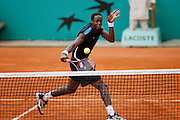 Roland Garros. Paris, France. May 30th 2006. Monfils plays against Murray during the first tour of the tennis french open.