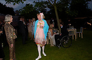 Grayson Perry. The Serpentine Summer party co-hosted by Jimmy Choo. The Serpentine Gallery. 30 June 2005. ONE TIME USE ONLY - DO NOT ARCHIVE  © Copyright Photograph by Dafydd Jones 66 Stockwell Park Rd. London SW9 0DA Tel 020 7733 0108 www.dafjones.com