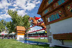 Jorand Yannick, SUI, Cipetto 2<br /> Spruce Meadows Masters - Calgary<br /> © Hippo Foto - Dirk Caremans<br /> 08/09/2018