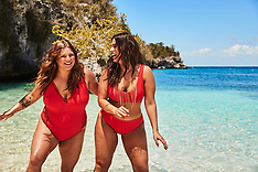 Ashley Graham parades her curves in Swimsuits For All bikini photoshoot with sister - 21 May 2019