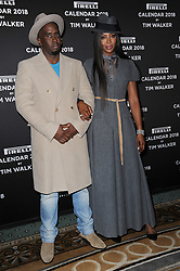 November 10, 2017 - New York, NY, USA - November 10, 2017  New York City..Sean Combs and Naomi Campbell attending the Pirelli Calendar by Tim Walker photocall on November 10, 2017 in New York City. (Credit Image: © Kristin Callahan/Ace Pictures via ZUMA Press)