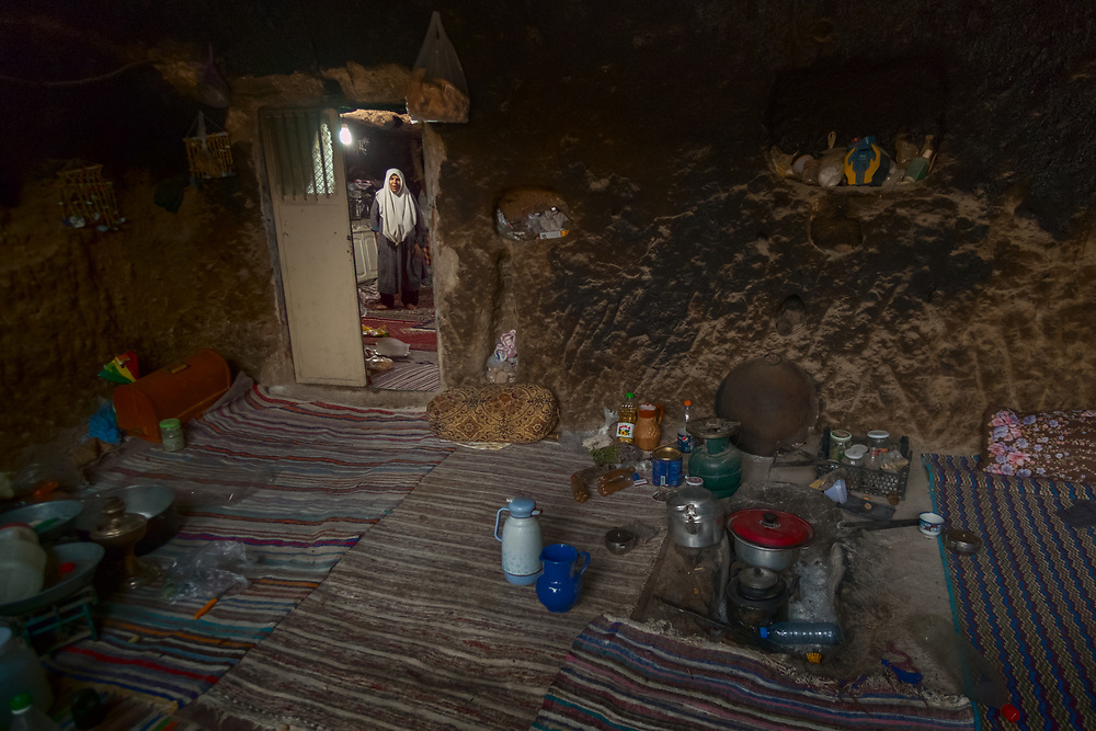 There are less than 300 people left in Meymand village, most of them elderly. The conditions of life in the settlement are harsh - the winters are very cold and, sometimes, heavy snowfall prevents residents from leaving their houses for days.