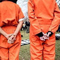 Close Guantanamo Bay - Lafayette Park -2020-01