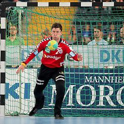 Rhein-Neckars Niklas Landin-Jacobsen (Nr.20) im Spiel Rhein-Neckar-Loewen - HSV Handball.<br /> <br /> Foto © P-I-X.org *** Foto ist honorarpflichtig! *** Auf Anfrage in hoeherer Qualitaet/Aufloesung. Belegexemplar erbeten. Veroeffentlichung ausschliesslich fuer journalistisch-publizistische Zwecke. For editorial use only.