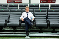 Roy Hodgson, head coach of England prior to the EURO 2016 Qualifier Group E match between Slovenia and England at SRC Stozice on June 14, 2015 in Ljubljana, Slovenia. Photo by Vid Ponikvar / Sportida