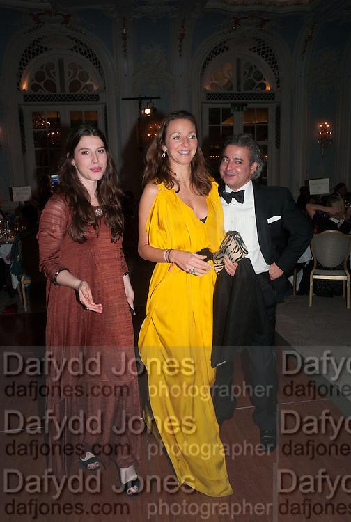 PONTINE PAUS; LILY LEWIS; MANUEL PINTO RIBIERO; , Game & Wildlife Conservation Trust's Ball. Savoy Hotel. London. 6 November 2013.