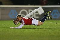 Rugby Union - 2012 Rugby Legends Match - British & Irish Legends vs. French Legends.Jamie Noon scores at Twickenham Stoop, London