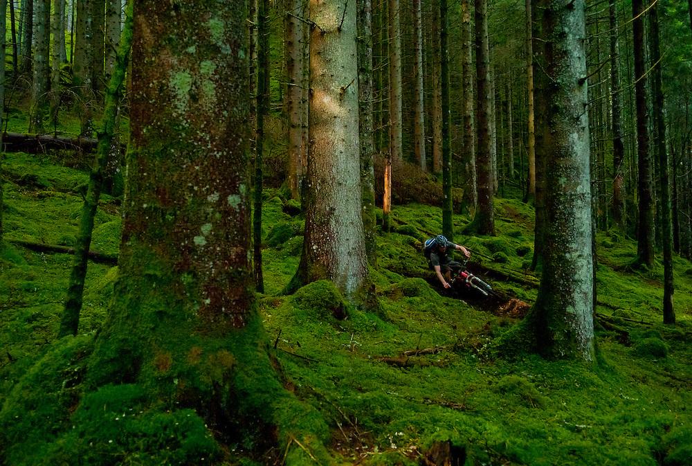 Joe Barnes, home made trail, Scotland.