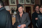 PAUL SIMONON , Charles Finch and  Jay Jopling host dinner in celebration of Frieze Art Fair at the Birley Group's Harry's Bar. London. 10 October 2012.