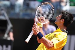 30.04.2010, Foro Italico, Rom, ITA, ATP Masters Turnier Rom, Fernando Verdasco (ESP) vs Novak Djokovic (SRB), im Bild Novak Djokovic (SRB). EXPA Pictures © 2010, PhotoCredit: EXPA/ InsideFoto/ Massimo Oliva / SPORTIDA PHOTO AGENCY