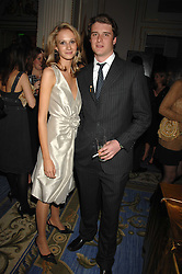 CHARLES BEAMISH and CLAUDIA SHAPIRO at a party to celebrate the launch of The Essential Party Guide held at the Mandarin Oriental Hyde Park, 66 Knightsbridge, London on 27th March 2007.<br /><br />NON EXCLUSIVE - WORLD RIGHTS