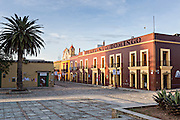 Plaza of Santo Domingo on the Alcala in the historic district October 30, 2013 in Oaxaca, Mexico.