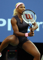 Tennis. US Open 2002. 07.09.2002.<br />Serena Williams slår søster Venus Williams.<br />Foto: Roger Parker, Digitalsport