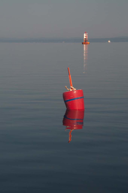 Lobster Buoy in Castine Harbor, Casttine, Maine, US