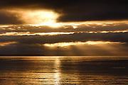 Sunrise over Mounts Bay, Penzance, Cornwall