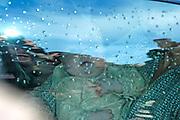 Hare Koninklijke Hoogheid Prinses Alexia, de jongste dochter van Zijne Koninklijke Hoogheid de Prins van Oranje en Hare Koninklijke Hoogheid Prinses Máxima, is zaterdag 19 november 2005 gedoopt in de Dorpskerk in Wassenaar. <br /> <br /> Baptism of Princess Alexia, the youngest daughter of Prince Willem-Alexander and Princess Máxima. Princess Alexia (born June 26, 2005) has been baptized in the church in Wassenaar. The ceremony was attended by The Dutch Royal Family and the parents of Princess Máxima.  <br /> <br /> Op de foto / On the photo:<br /> <br /> <br /> Maxima en Alexia vertrekken