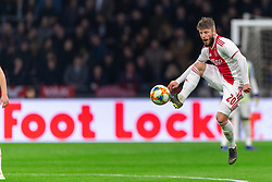 13-03-2019 NED: Ajax - PEC Zwolle, Amsterdam<br /> Ajax has booked an oppressive victory over PEC Zwolle without entertaining the public 2-1 / Lasse Schone #20 of Ajax