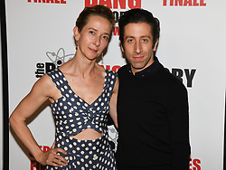 May 1, 2019 - JOCELYN TOWNE and SIMON HELBERG attends The Big Bang Theory's Series Finale Party at the The Langham Huntington. (Credit Image: © Billy Bennight/ZUMA Wire)