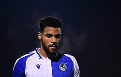 Jonah Ayunga of Bristol Rovers after the final whistle of the match  - Mandatory by-line: Ryan Hiscott/JMP - 12/01/2021 - FOOTBALL - Memorial Stadium - Bristol, England - Bristol Rovers v AFC Wimbledon - Papa John's Trophy