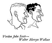 The New Zealanders ; the cricket team on tour<br /> Cricketers ; Verdun John Scott and Walter Mervyn Wallace
