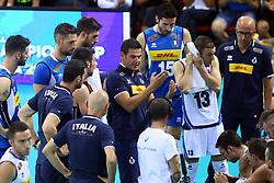 GIANLORENZO BLENGINI<br /> <br /> Italy vs Slovenia<br /> Volleyball men's world championship <br /> Florence September 18, 2018