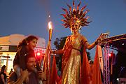 Firegirl Mt Hawthorn Streets and Lanes Festival Photo Bohdan Warchomij