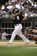 CHICAGO - MAY 01:  Ramon Castro #27 of the Chicago White Sox bats against the Baltimore Orioles on May 1, 2011 at U.S. Cellular Field in Chicago, Illinois.  The Orioles defeated the White Sox 6-4.  (Photo by Ron Vesely)  Subject:   Ramon Castro