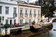 Sushi Bar along the River Gilão in Tavira, Portugal