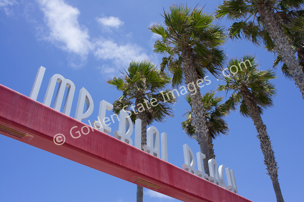 Located at Imperial Beach Pier.