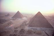 Pyramids in Mist