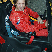 Start site Racetrack.nl Lelystad, Rick Engelkes in een Donkervoort racewagen