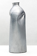 dented aluminum can