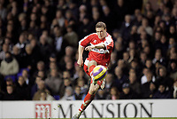 Photo: Marc Atkins.<br /> Tottenham Hotspur v Middlesbrough. The Barclays Premiership. 05/12/2006. Robert Huth of Boro In action.