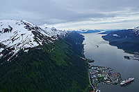 Aerial View, Mount Roberts & Gastineau Channel