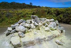 Sulpher Banks or Ha`akulamanu, Hawaii, USA Volcanoes National Park, Kilauea, Big Island, Hawaii, USA