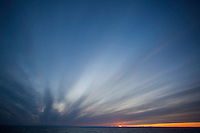 Dramatic skies over Svalbard, Norway