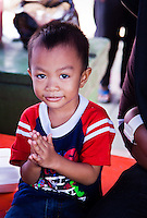 Little boy smiling.