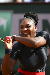 May 29, 2018 - Paris, France - Serena Williams  (Credit Image: © Panoramic via ZUMA Press)