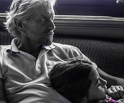 "Catherine Zeta Jones releases a photo on Instagram with the following caption: ""Daddy and daughter\ud83d\ude4f\ud83c\udffbTBT"". Photo Credit: Instagram *** No USA Distribution *** For Editorial Use Only *** Not to be Published in Books or Photo Books ***  Please note: Fees charged by the agency are for the agency's services only, and do not, nor are they intended to, convey to the user any ownership of Copyright or License in the material. The agency does not claim any ownership including but not limited to Copyright or License in the attached material. By publishing this material you expressly agree to indemnify and to hold the agency and its directors, shareholders and employees harmless from any loss, claims, damages, demands, expenses (including legal fees), or any causes of action or allegation against the agency arising out of or connected in any way with publication of the material."