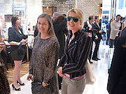 CATHERINE OSTLER; TICKY HEDLEY-DENT, Louis Vuitton openingof New Bond Street Maison. London. 25 May 2010. -DO NOT ARCHIVE-© Copyright Photograph by Dafydd Jones. 248 Clapham Rd. London SW9 0PZ. Tel 0207 820 0771. www.dafjones.com.