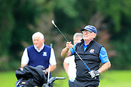 Ger Naughton (Limerick) during the final round of the All Ireland Four Ball Interclub Final, Roe Park resort, Limavady, Derry, Northern Ireland. 15/09/2019.<br /> Picture Fran Caffrey / Golffile.ie<br /> <br /> All photo usage must carry mandatory copyright credit (© Golffile | Fran Caffrey)