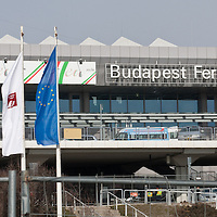 Budapest Airport Terminal 2A building as seen during the Hungarian EU presidency in Budapest, Hungary on March 08, 2011. ATTILA VOLGYI