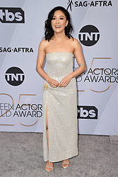 Constance Wu attends the 25th Annual Screen Actors Guild Awards at The Shrine Auditorium on January 27, 2019 in Los Angeles, CA, USA. Photo by Lionel Hahn/ABACAPRESS.COM