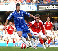 Photo: Ed Godden.<br />Chelsea v Charlton Athletic. The Barclays Premiership. 09/09/2006. Chelsea's Michael Ballack.