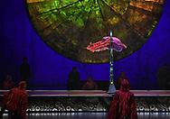 DRESS REHEARSAL OF CIRQUE DU SOLEIL<br />LUZIA<br />AT THE ROYAL ALBERT HALL