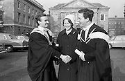 Degrees at Trinity College Dublin..06.12.1962